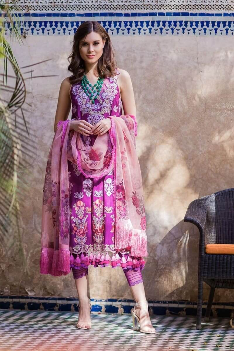 Sobia Nazir Luxury Lawn Collection 2020 Pakistani Suits Design 7B