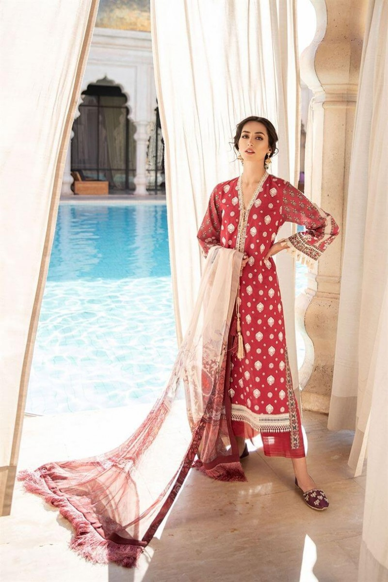 Salwar Kameez Sobia Nazir Vital Lawn Collection 2020 Design 4A