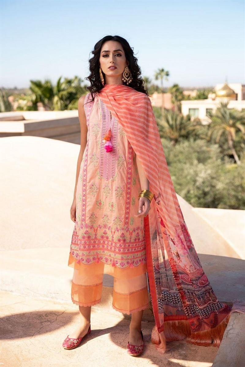 Salwar Kameez Sobia Nazir Vital Lawn Collection 2020 Design 5A