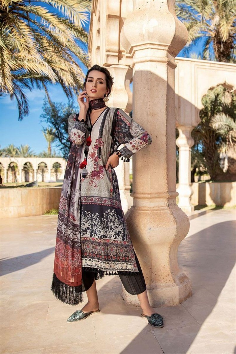 Salwar Kameez Sobia Nazir Vital Lawn Collection 2020 Design 7A